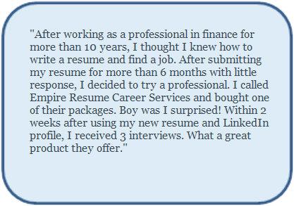 Order resume online now