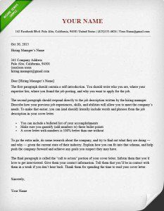 Professional Cover Letter | Cover Letter Writing Services in Salt ...