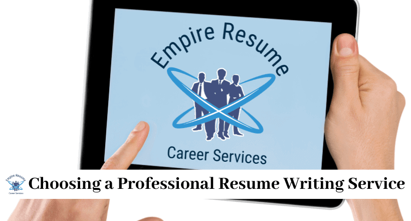 Where To Get A Resume Done Professionally Empire Resume