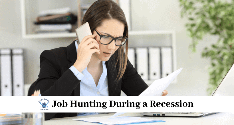 Finding a Job During a Recession