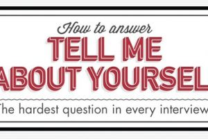 "How To Answer The ""Tell Me About Yourself"" Interview Question"