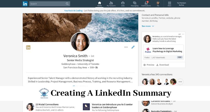 How To Write A Good Linkedin Summary Empire Resume