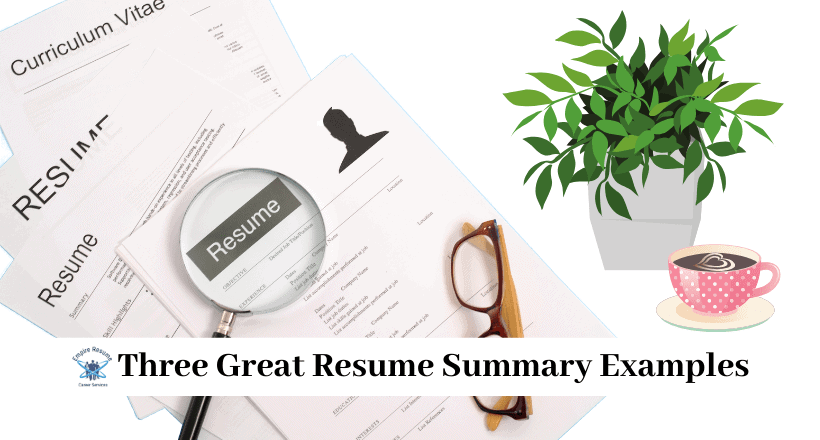 How to Write a good Resume Summary