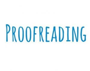 Proofreading Your Resume