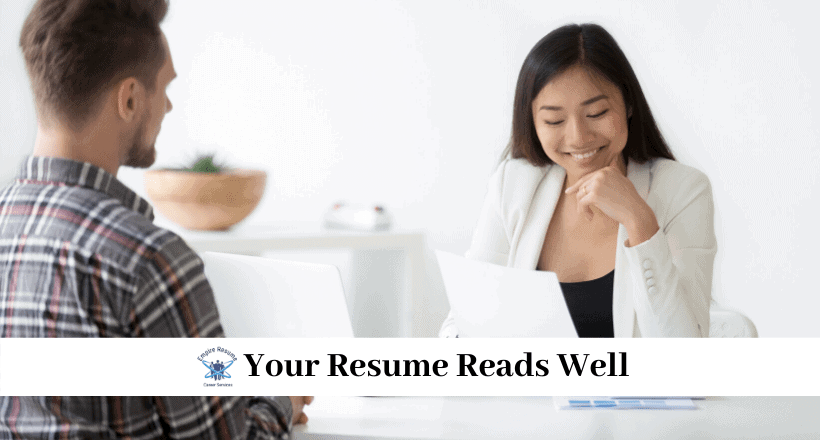resume proofreading