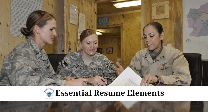 Military to Civilian Resumes