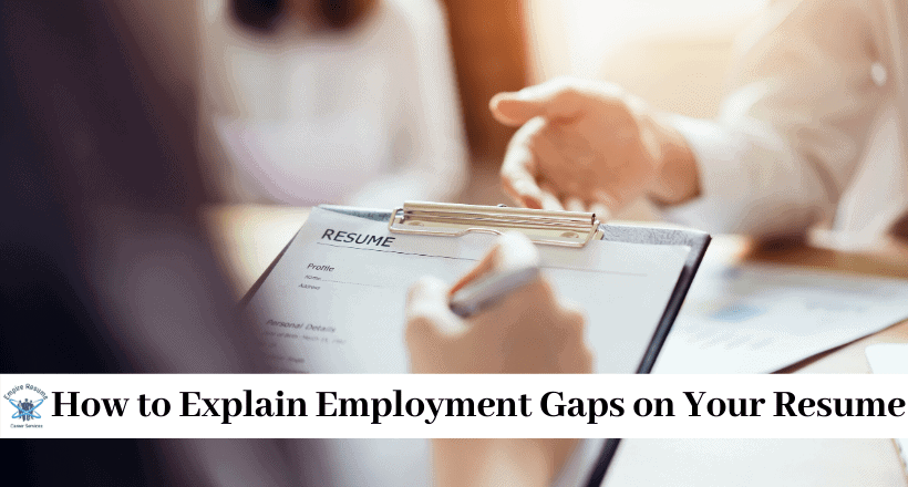 Employment Gaps on Resume