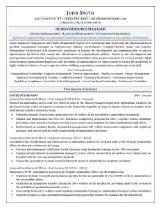 Military-to-Civilian Resume Examples | Empire Resume