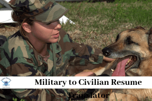 Military to Civilian Resume Translatorranslator