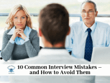 10 Common Interview Mistakes