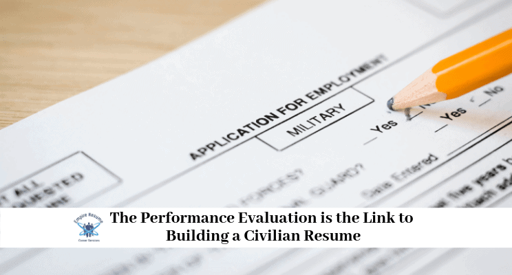 Military Performance Evaluation Information | Empire Resume
