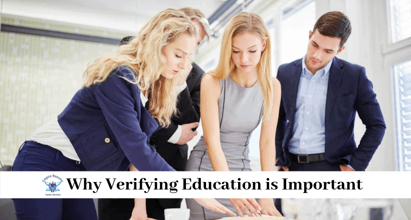 Education Verification for Employment