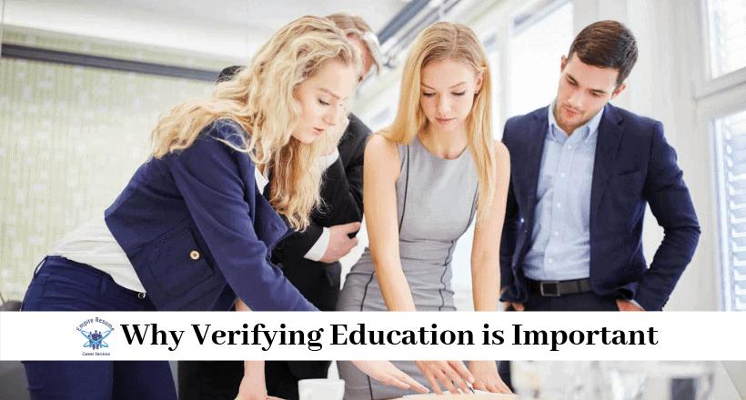 Education Verification for Employment