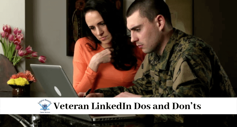 Creating a Veteran LinkedIn