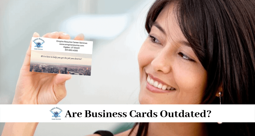 Are Business Cards Outdated