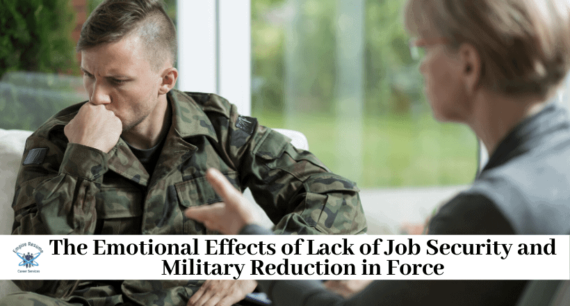 Military vs. Civilian Job Security