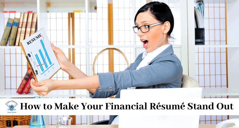financial resume tips