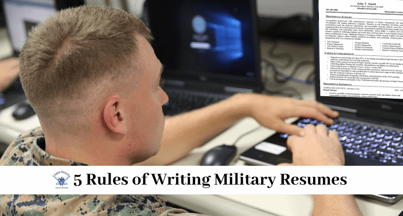 Writing Military Resumes