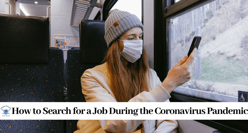 Searching for a Job During the Coronavirus