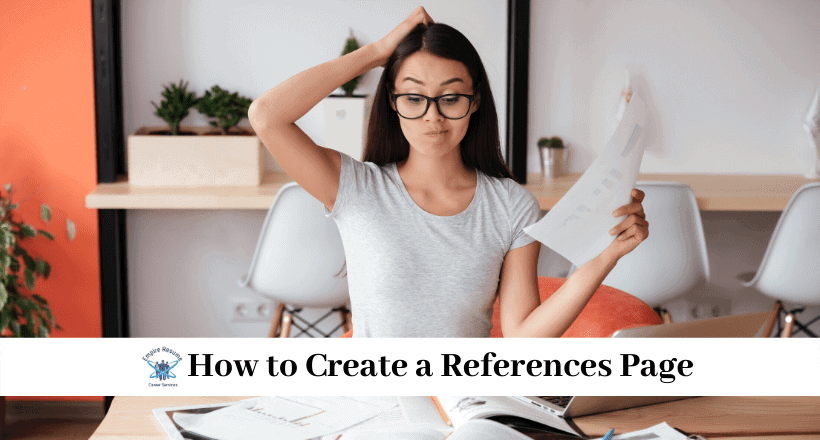 How to Create a References Page