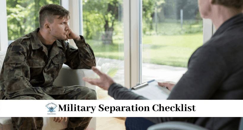 Military Separation Checklist