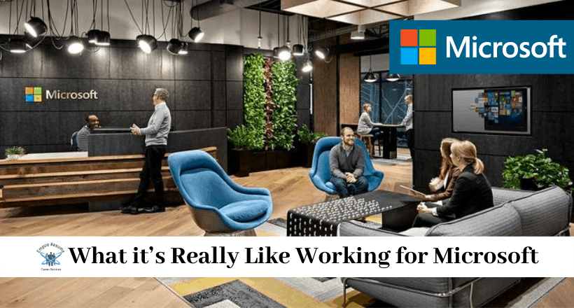 Working for Microsoft