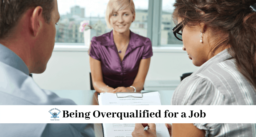 Being Overqualified for a Job