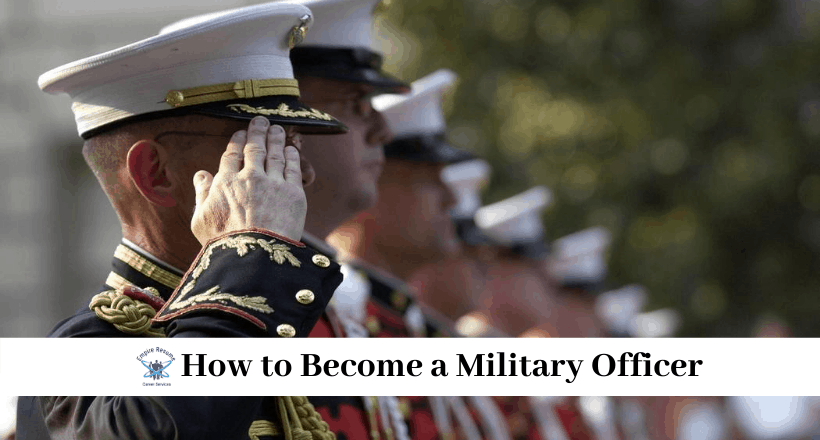 How to Become a Military Officer