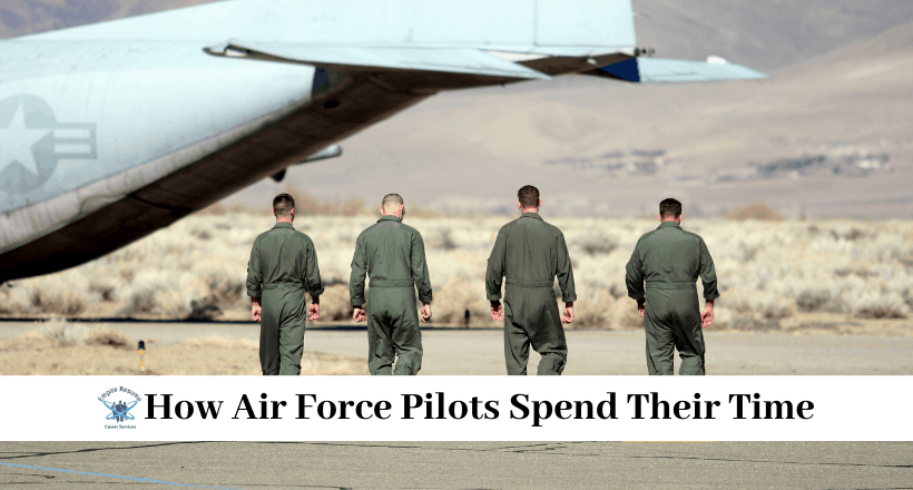 Being a Pilot in the Air Force