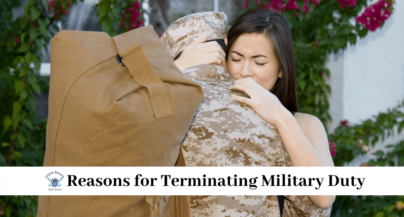 How to Get Out of the Military