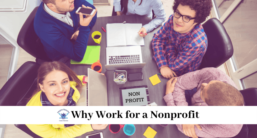 Why Work for a Nonprofit