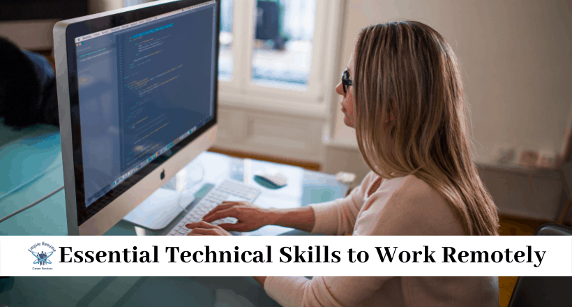 Essential Technical Skills to Work Remotely