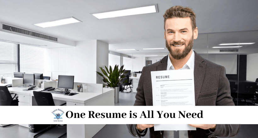 How Many Resumes Should You Have