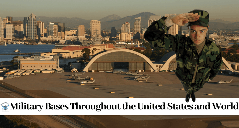 US Military Bases in the World