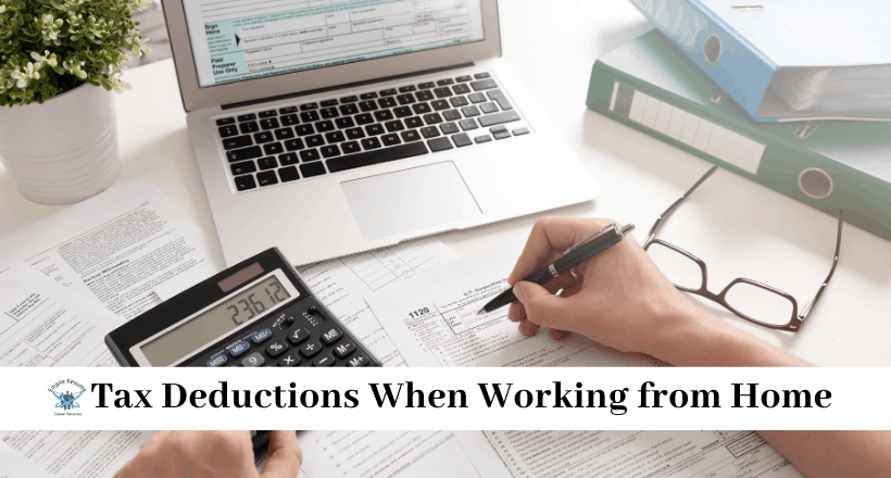 Tax Deductions When Working from Home