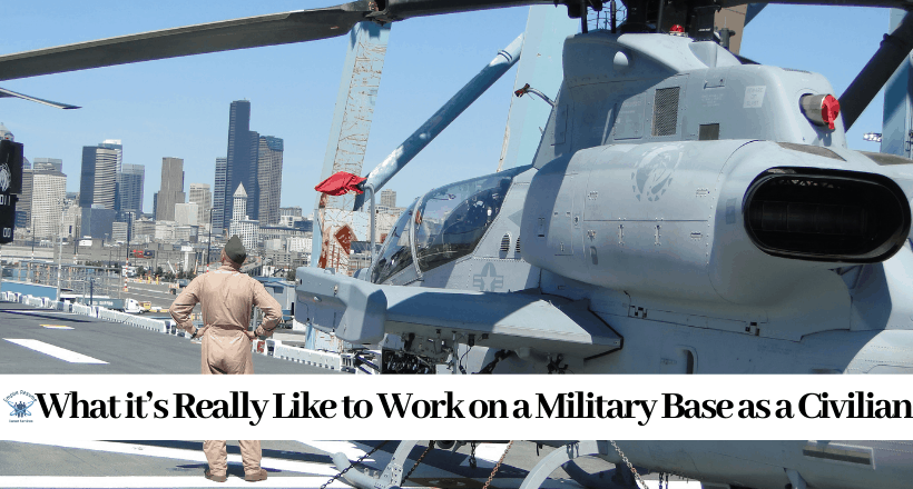 Working for the Military as a Civilian