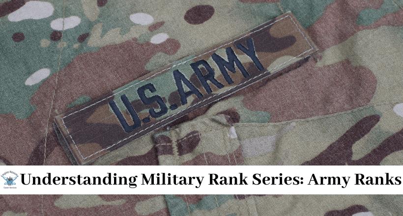 united states army ranks