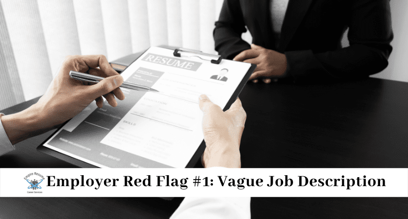 Red flags When Interviewing